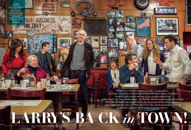 Article Preview: LARRY'S BACK in TOWN!, February 2015 | Vanity Fair