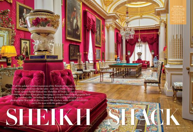 Article Preview: SHEIKH SHACK, February 2015 | Vanity Fair