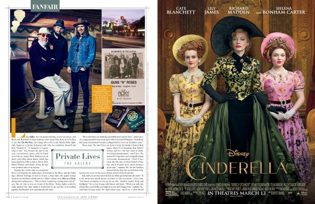 Article Preview: Private Lives THE ADLERS, March 2015 2015 | Vanity Fair
