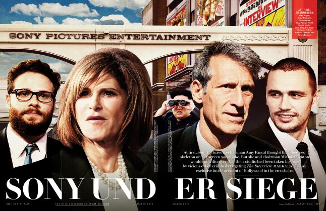 Article Preview: SONY UNDER SIEGE, March 2015 | Vanity Fair