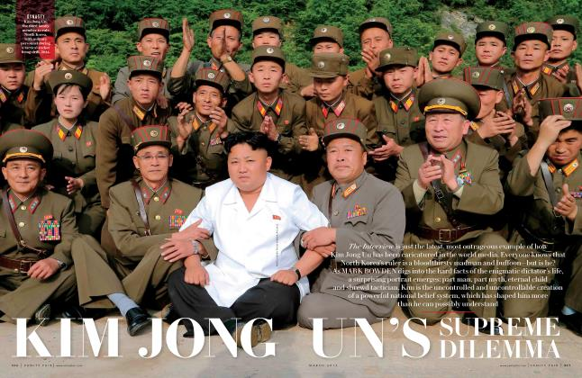 Article Preview: KIM JONG UN'S SUPREME DILEMMA, March 2015 2015 | Vanity Fair