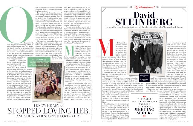 Article Preview: David STEINBERG, March 2015 2015 | Vanity Fair