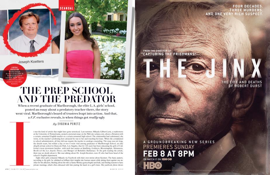THE PREP SCHOOL AND THE PREDATOR
