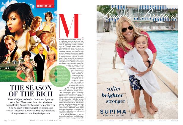 Article Preview: THE SEASON OF THE RICH, April 2015 2015 | Vanity Fair
