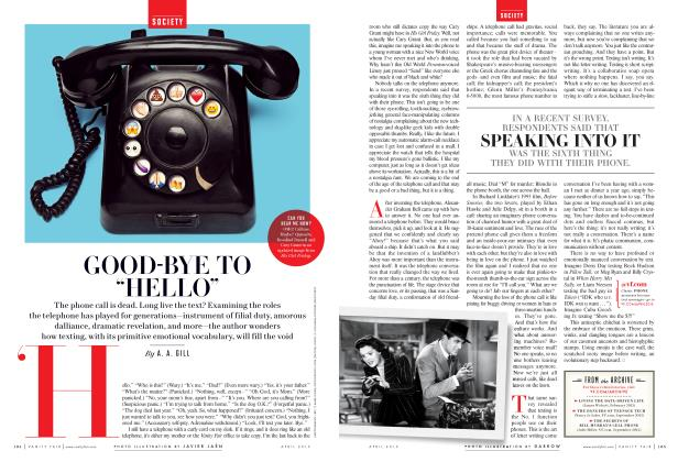 """Article Preview: GOOD-BYE TO """"HELLO"""", April 2015 2015 