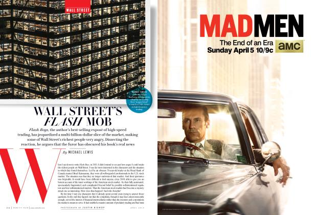 Article Preview: WALL STREET'S FLASH MOB, April 2015 | Vanity Fair