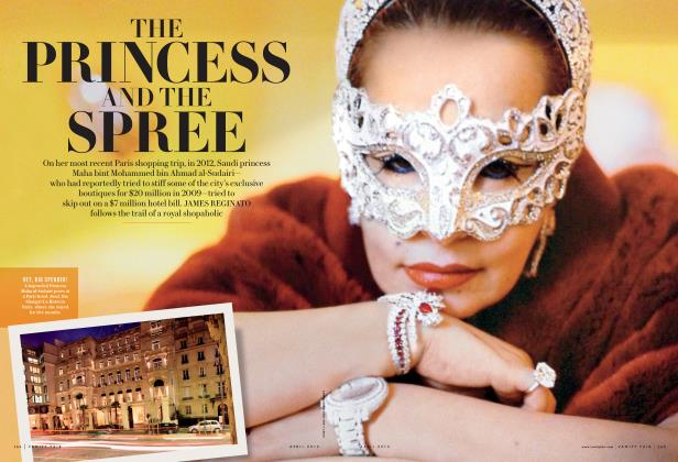 Article Preview: THE PRINCESS AND THE SPREE, April 2015 2015 | Vanity Fair