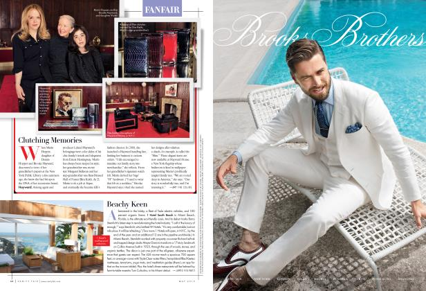 Article Preview: Beachy Keen, May 2015 2015 | Vanity Fair