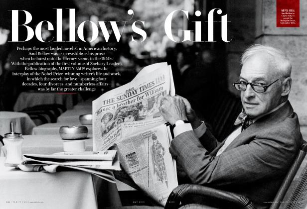 Article Preview: Bellow's Gift, May 2015 2015 | Vanity Fair