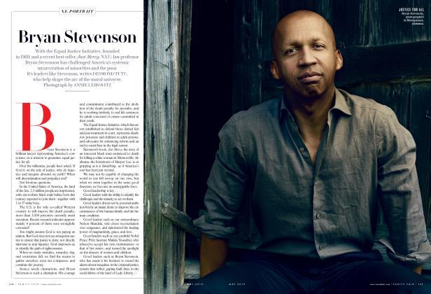 Article Preview: Bryan Stevenson, May 2015 2015 | Vanity Fair