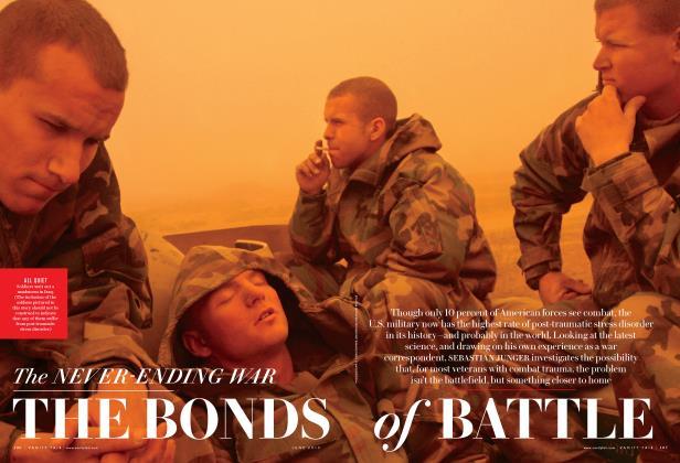 The NEVER-ENDING WAR THE BONDS of BATTLE