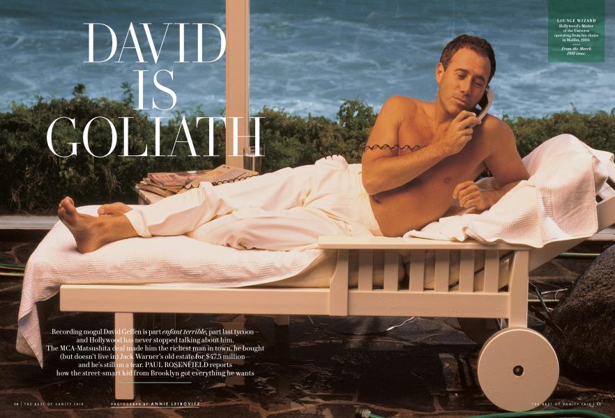 DAVID IS GOLIATH
