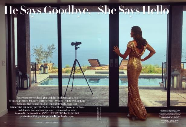 Article Preview: He Says Goodbye, She Says Hello, July 2015 2015 | Vanity Fair