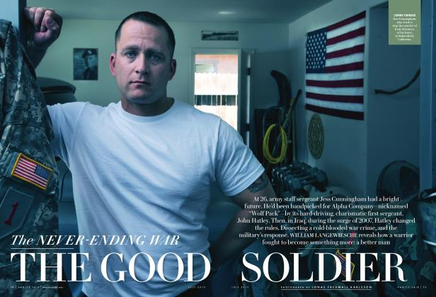 Article Preview: The NEVER-ENDING WAR THE GOOD SOLDIER, July 2015 | Vanity Fair