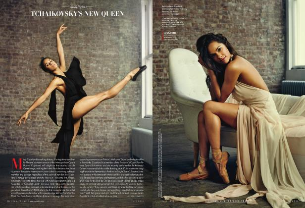Article Preview: TCHAIKOVSKY'S NEW QUEEN, July 2015 2015   Vanity Fair