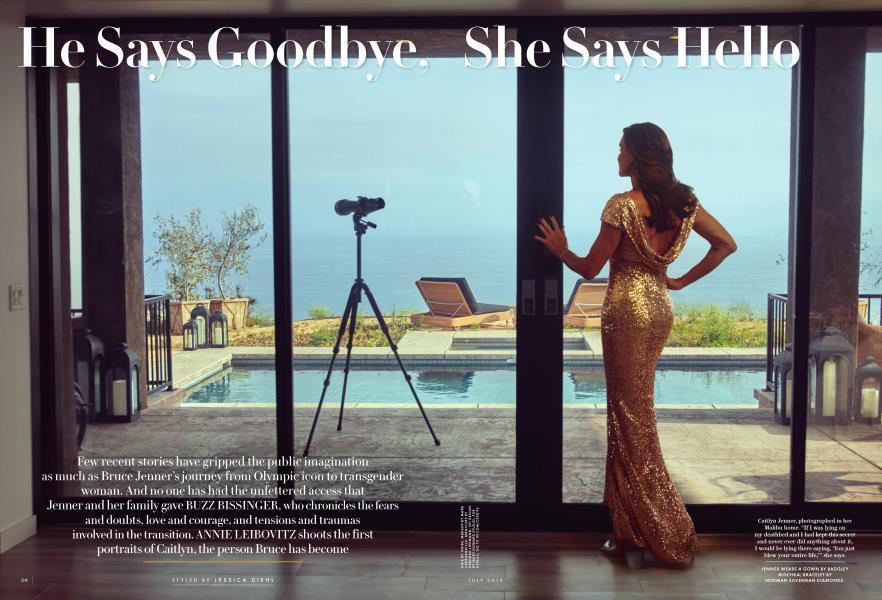He Says Goodbye, She Says Hello