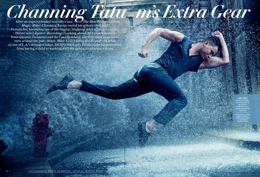 Channing Tatum's Extra Gear