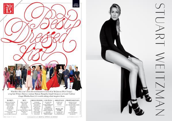 Article Preview: Best Dressed List, September 2015 2015   Vanity Fair
