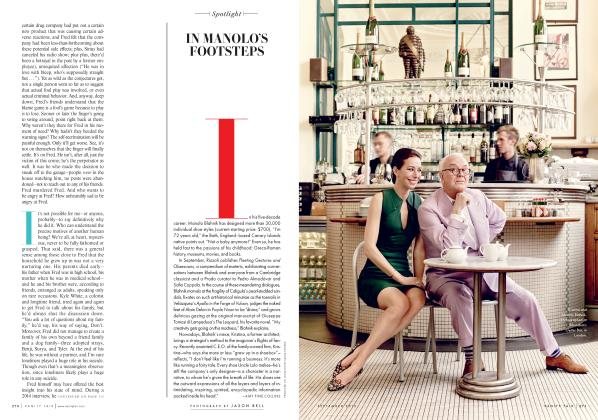 Article Preview: IN MANOLO'S FOOTSTEPS, September 2015 2015 | Vanity Fair