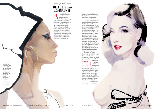 Article Preview: BEAUTY and the BRUSH, September 2015 2015 | Vanity Fair