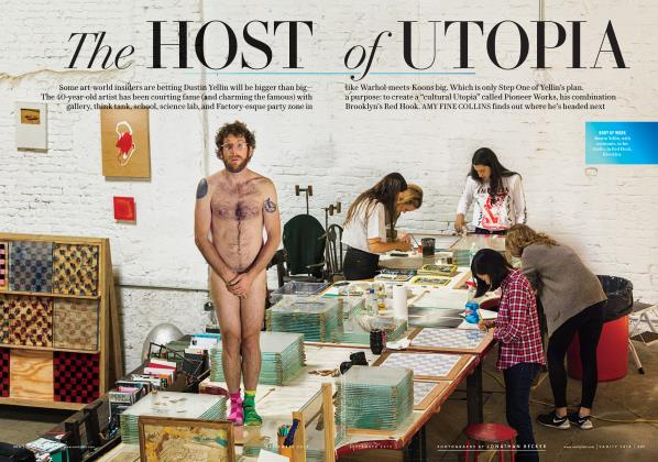 Article Preview: The HOST of UTOPIA, September 2015 2015   Vanity Fair