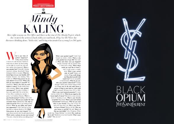 Article Preview: Mindy KALING, September 2015 2015 | Vanity Fair