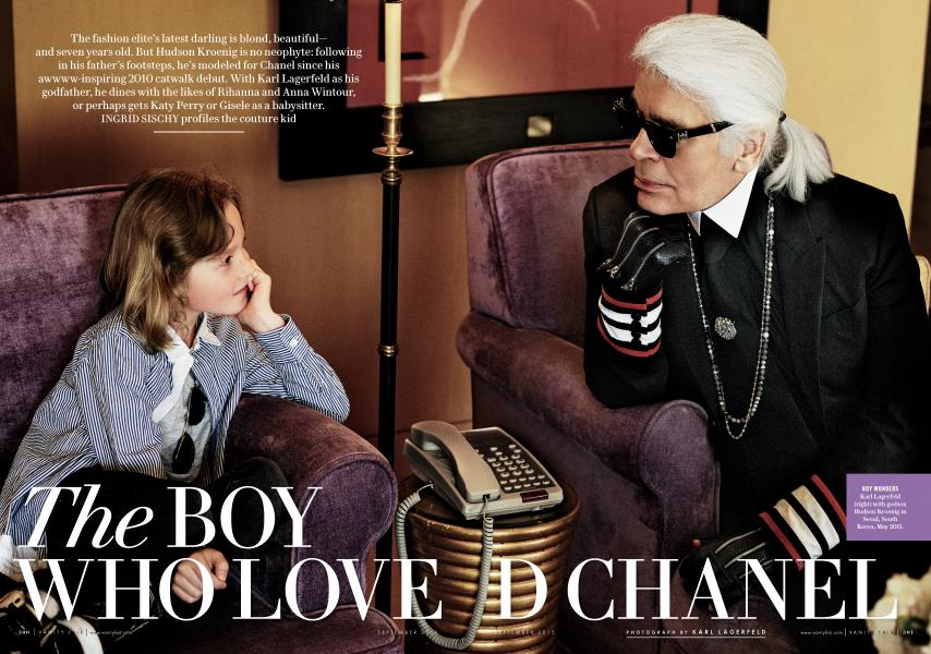 THE BOY WHO LOVED CHANEL