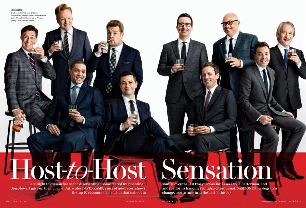 Article Preview: Host-to-Host Sensation, October 2015 2015 | Vanity Fair