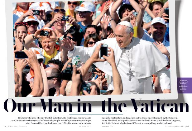 Article Preview: Our Man in the Vatican, October 2015 2015 | Vanity Fair