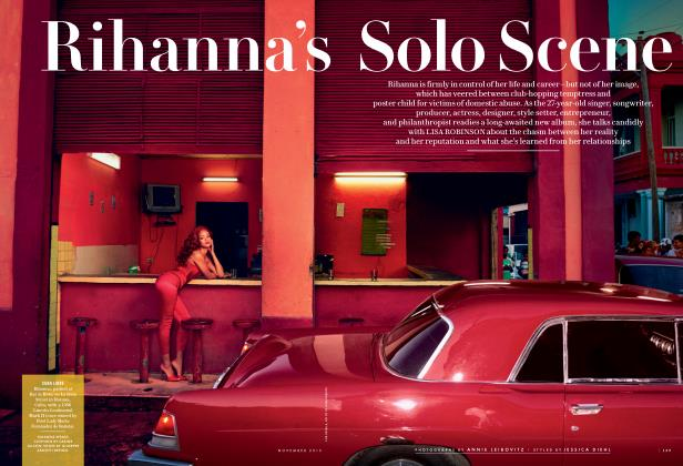 Article Preview: Rihanna's Solo Scene, November 2015 2015 | Vanity Fair
