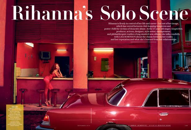 Rihanna's Solo Scene