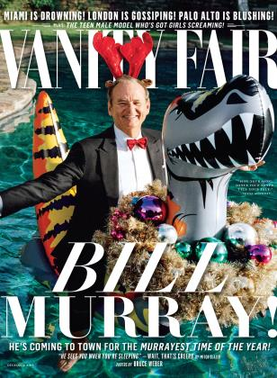 December 2015 | Vanity Fair