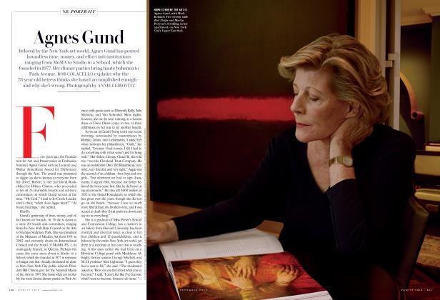 Article Preview: Agnes Gund, December 2015 2015 | Vanity Fair