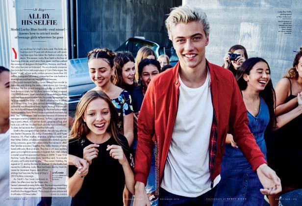 Article Preview: ALL BY HIS SELFIE, December 2015 2015 | Vanity Fair
