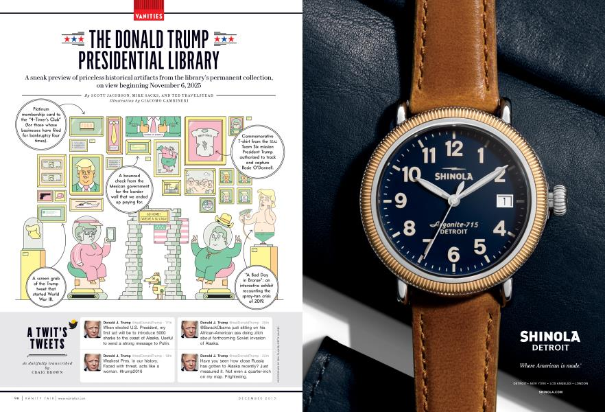 THE DONALD TRUMP PRESIDENTIAL LIBRARY