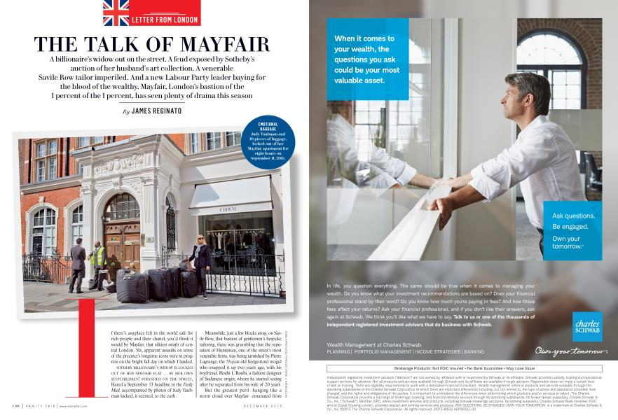 THE TALK OF MAYFAIR