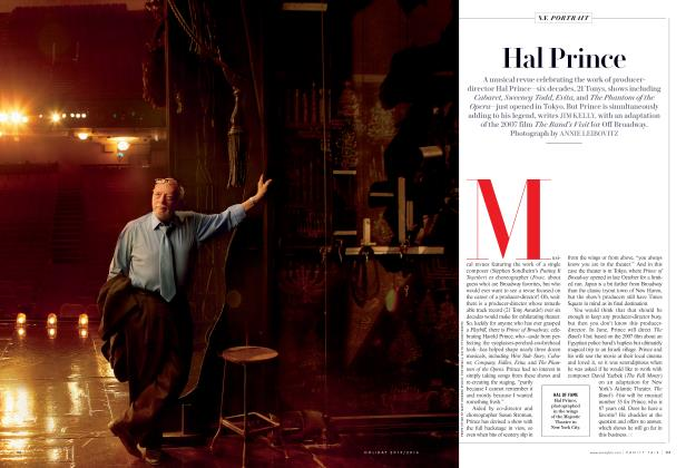 Article Preview: Hal Prince, Holiday 2015/2016 2016 | Vanity Fair