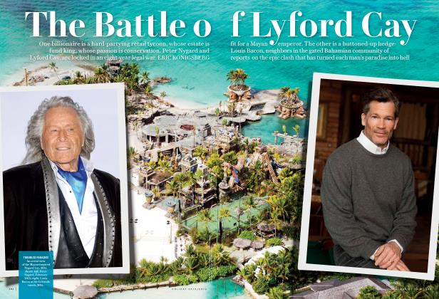 Article Preview: The Battle of Lyford Cay, Holiday 2015/2016 2016 | Vanity Fair
