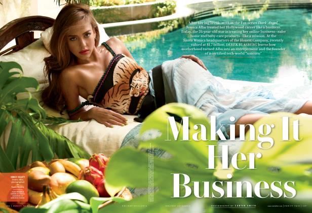 Article Preview: Making It Her Business, Holiday 2015/2016 2016 | Vanity Fair