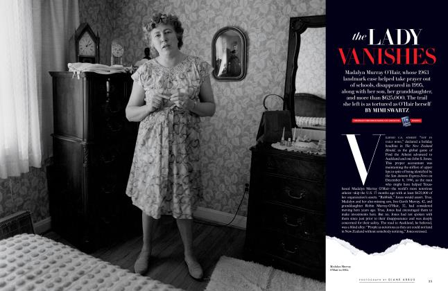 Article Preview: the LADY VANISHES, Special Edition 2016 | Vanity Fair