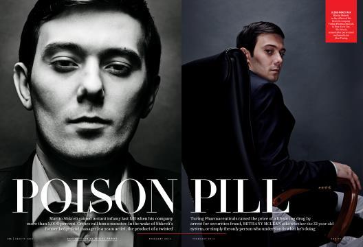 POISON PILL - February | Vanity Fair