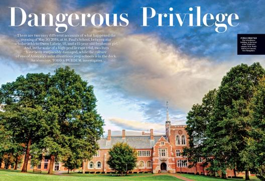 Dangerous Privilege - March | Vanity Fair