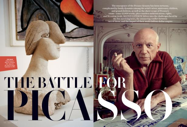 Article Preview: THE BATTLE FOR PICASSO, March 2016 2016 | Vanity Fair