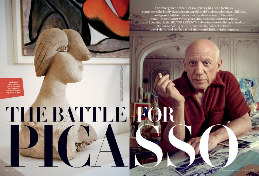 THE BATTLE FOR PICASSO