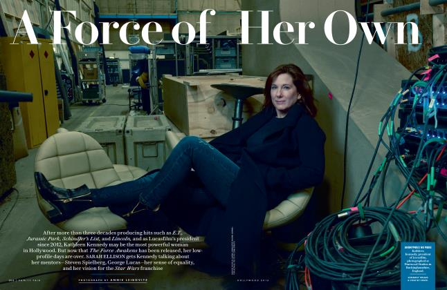 Article Preview: A Force of Her Own, Hollywood 2016 2016 | Vanity Fair
