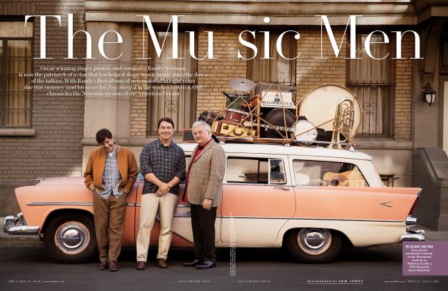Article Preview: The Music Men, Hollywood  2016 | Vanity Fair