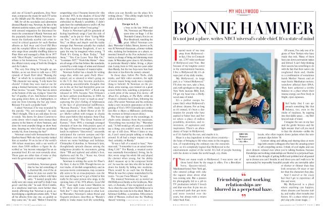 Article Preview: BONNIE HAMMER, Hollywood 2016 2016 | Vanity Fair