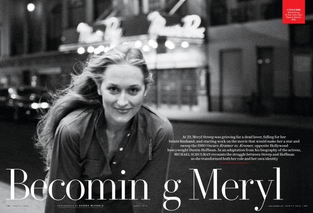 Article Preview: Becoming Meryl, April 2016 2016 | Vanity Fair