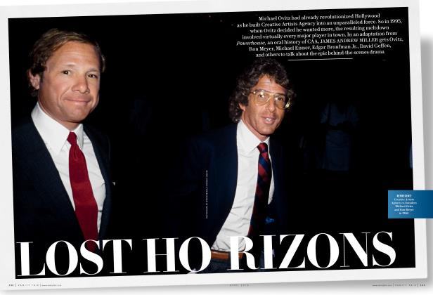 Article Preview: LOST HORIZONS, April 2016 2016 | Vanity Fair