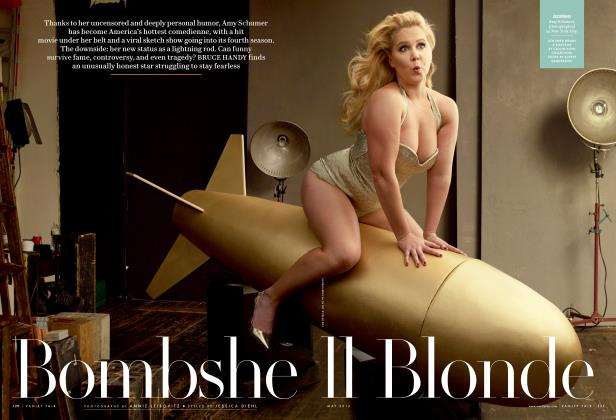 Article Preview: Bombshell Blonde, May 2016 2016 | Vanity Fair